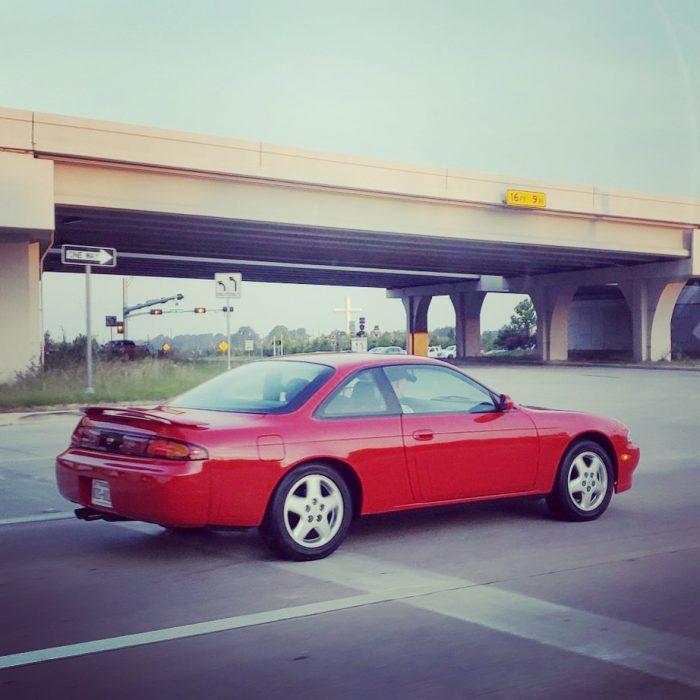 A friend of a friend took a photo of the 240sx